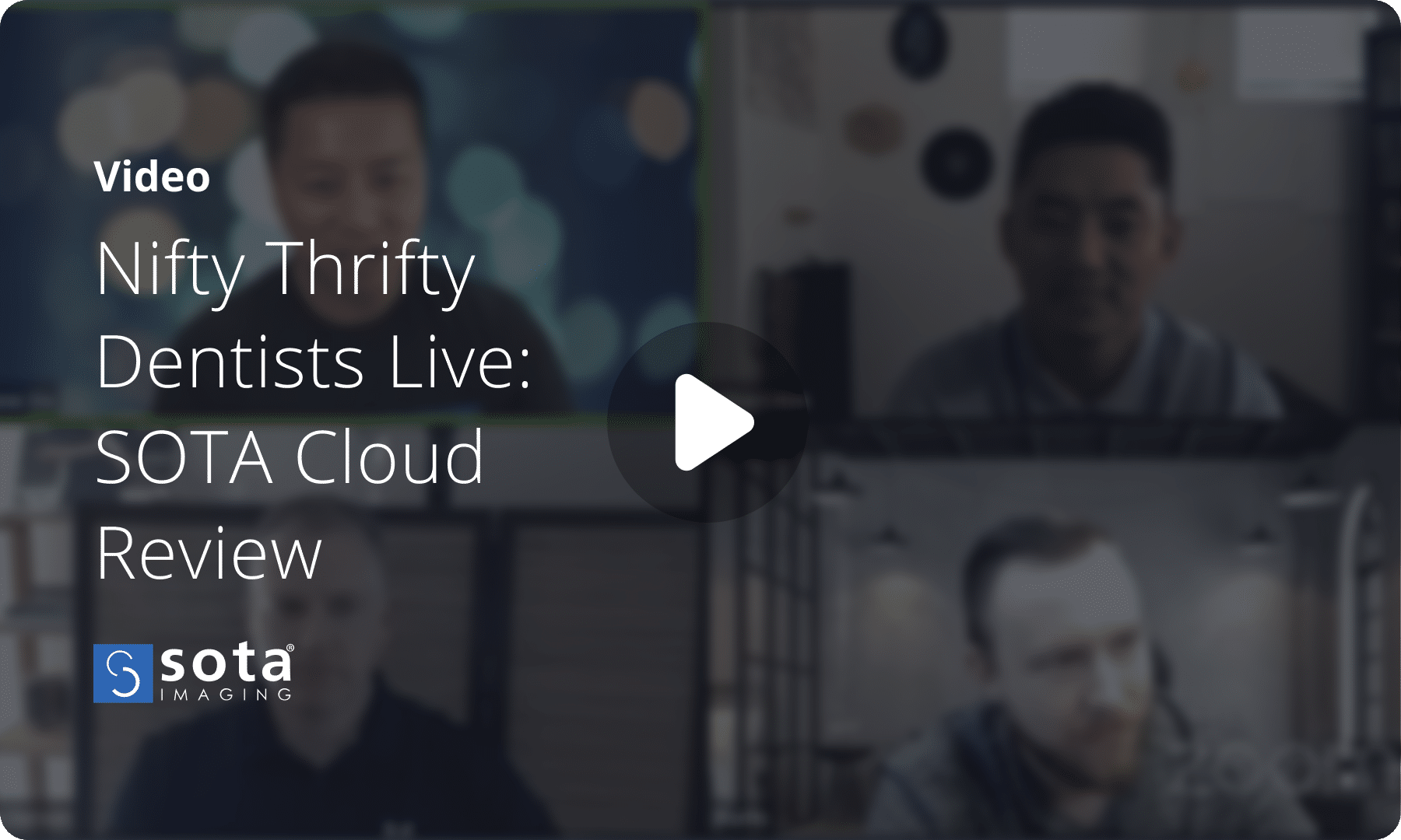 Nifty Thrifty Live Interview of SOTA Imaging team about SOTA Cloud dental imaging software